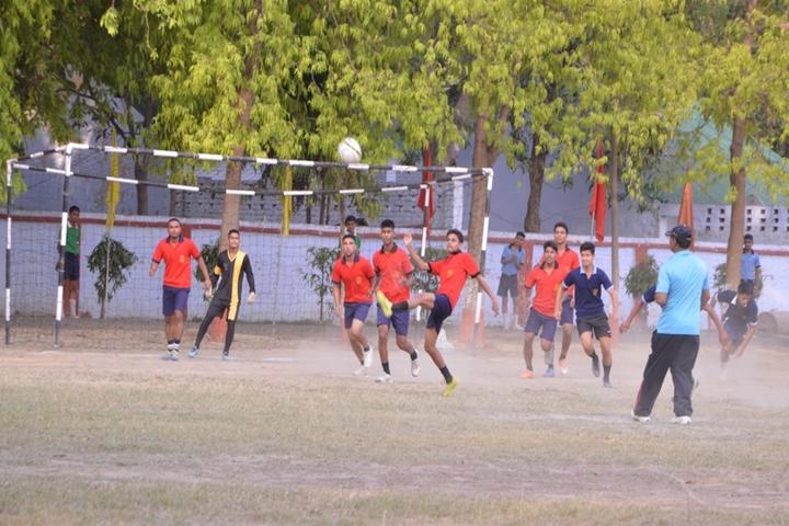 Captain Manoj Kumar Pandey-Foot Ball Tournement