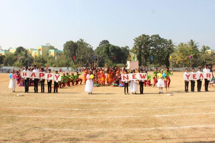 D A V Centenary Public School-New Year Celebrations