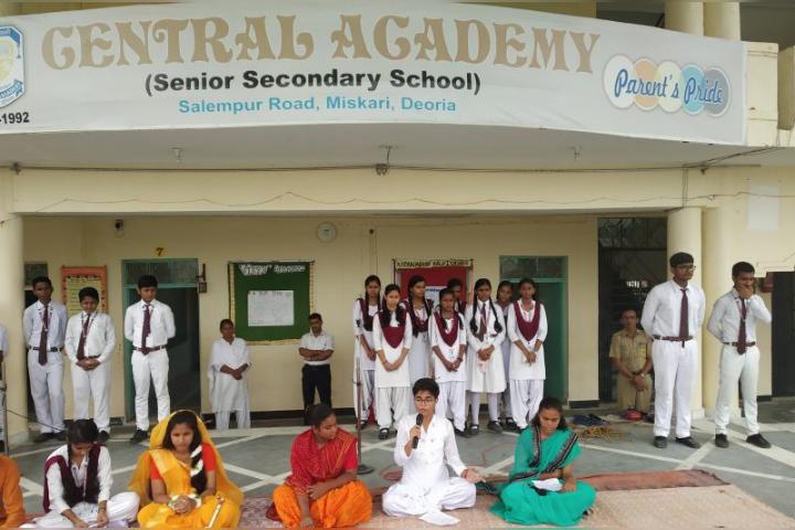 Central Academy, Deoria - Kavita Path