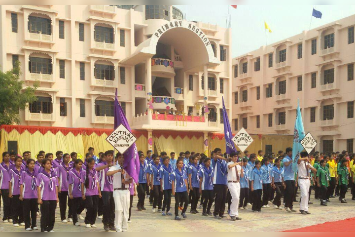 Central Academy, Indira Nagar - School Building