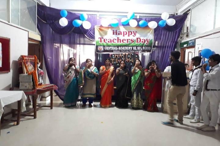 Central Academy-Teachers Day