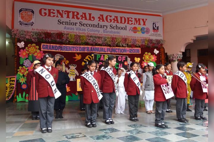 Central Academy, Barabanki - Independence Day Celebration