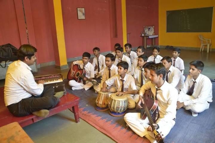 Central Academy Senior Secondary School-Music Room