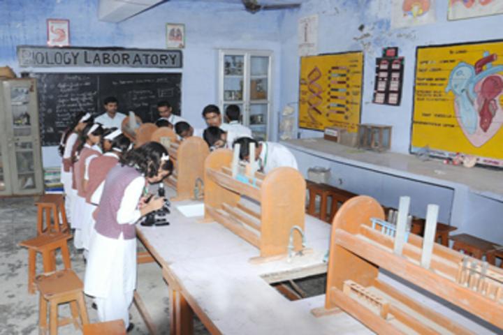 Central Agra Public School-Biology Lab