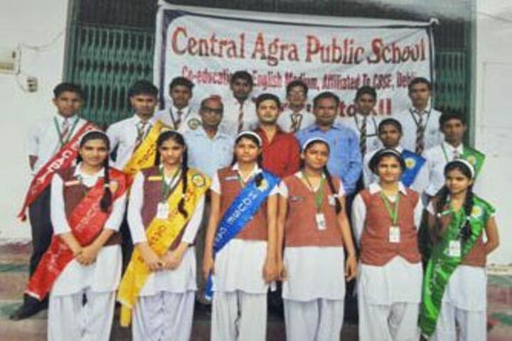 Central Agra Public School-Students