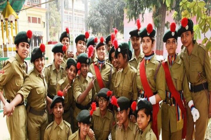 Central Hindu Girls Senior Secondary School-NCC