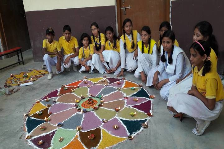 Central Public Academy-Rangoli