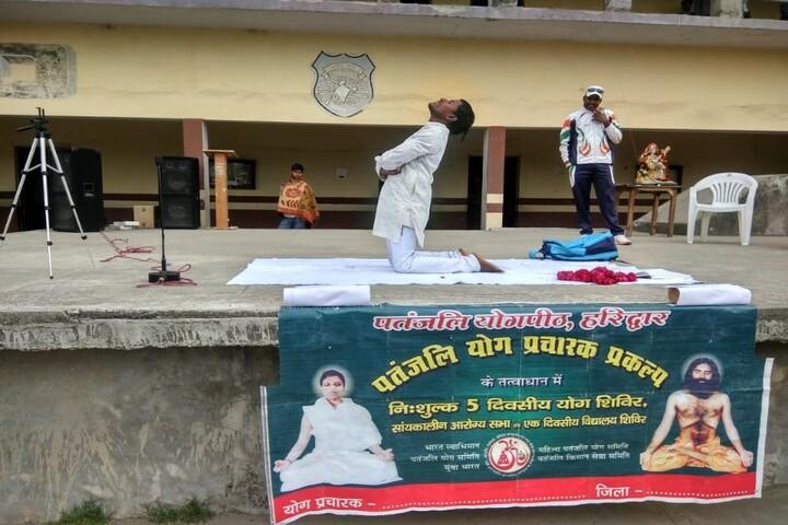 Central Public School-Yoga