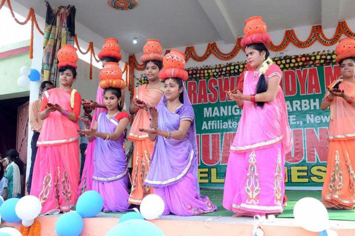 Sarswati Vidya Mandir-Dance Activity