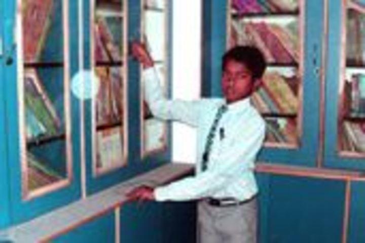 Sarswati Vidya Mandir-Library