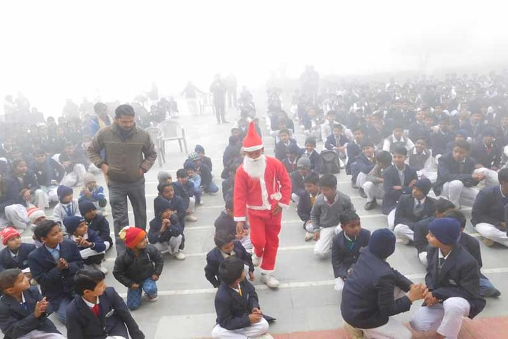 Ch Prakash Chand Senior Secondary School-Christmas Celabrations