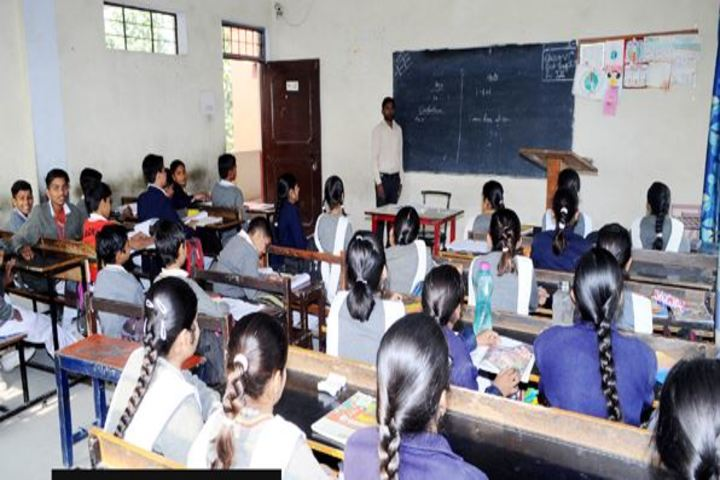 Chander sain convent Academy-Classroom