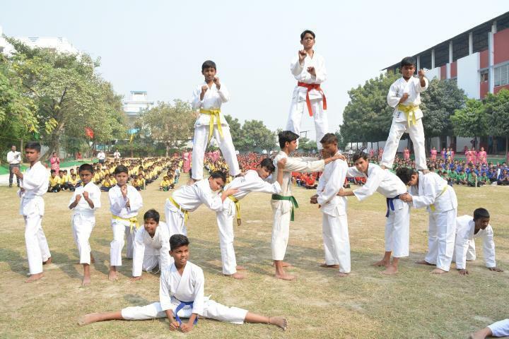 Chandra Public School-Sports day