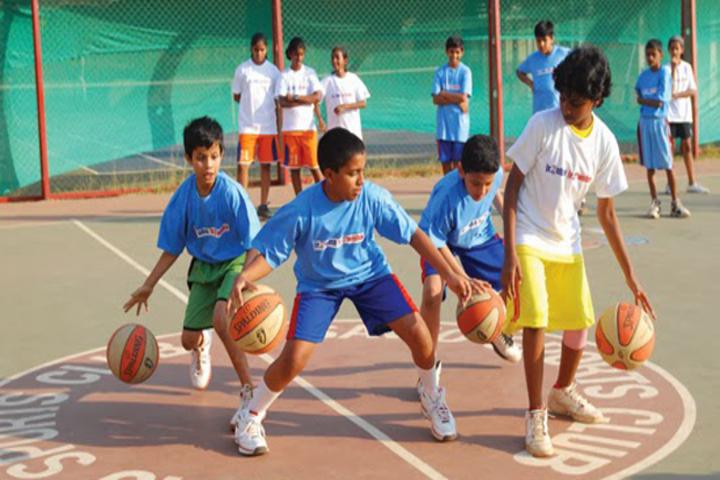 Chandraprabha Public School-Basket Ball