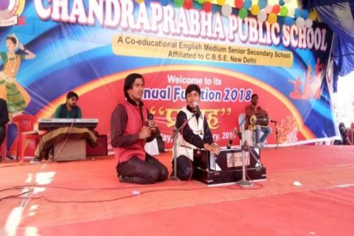 Chandraprabha Public School-Music Activity