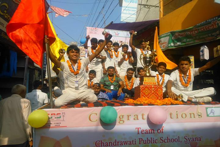Chandrawati Public School-Sports Winner