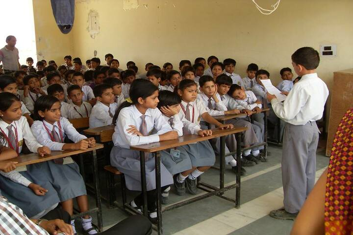 Charkula Global Public School-Classroom