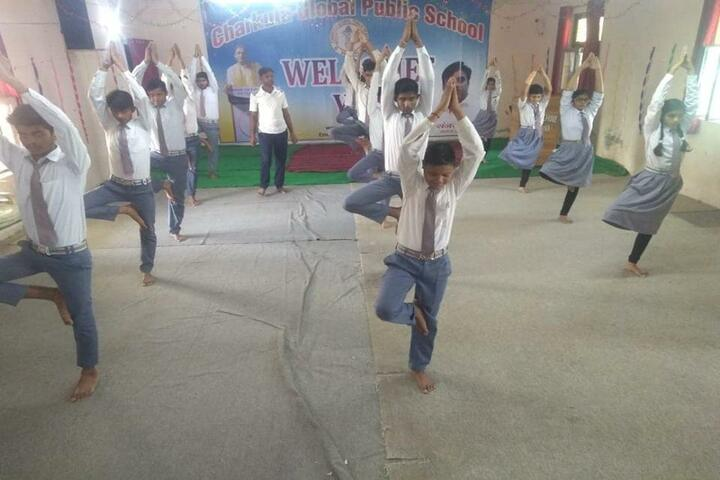 Charkula Global Public School-Yoga