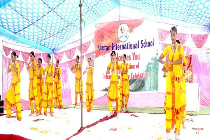 Chetan International School-Cultural Dance