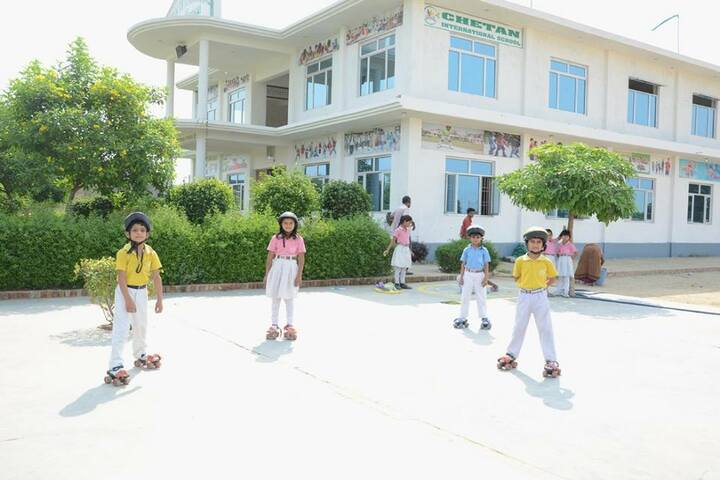 Chetan International School-Skating