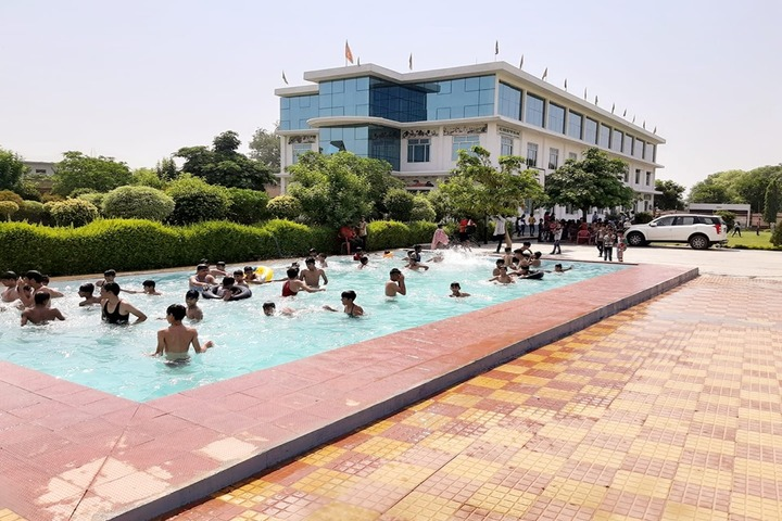 Chetan International School-Swiming Pool