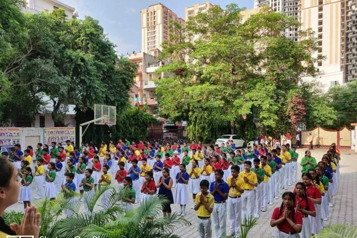 Chhaya Public School-Morning Assembly