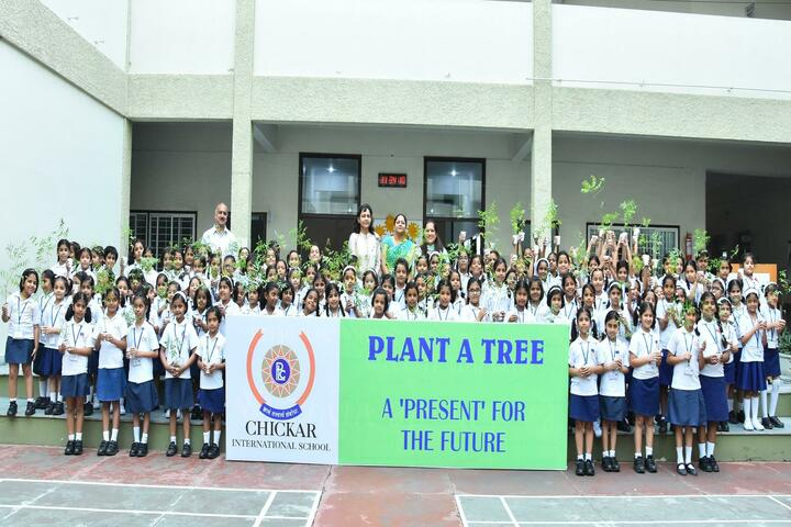Chickar international school-Tree Plantation