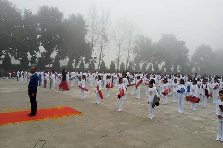 Children Public Sr Sec School-Yoga