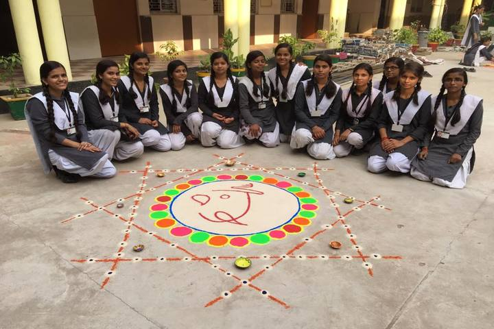 Children School-Rangoli