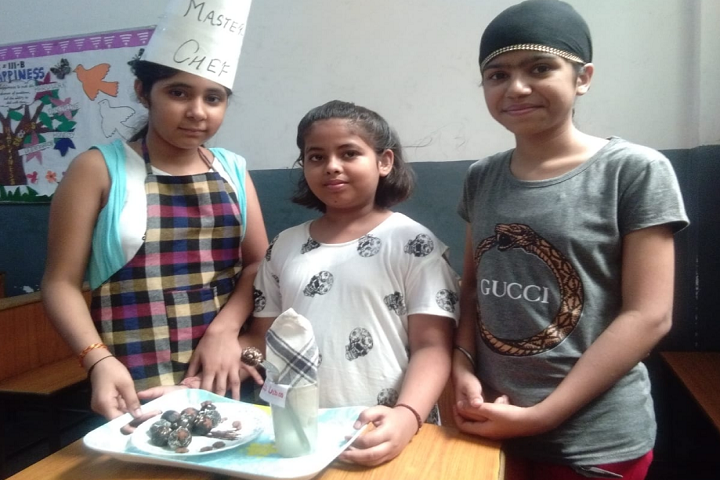 Childrens Academy- Food Activity