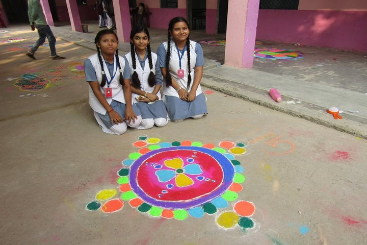 Christ Convent School Rath-Rangoli
