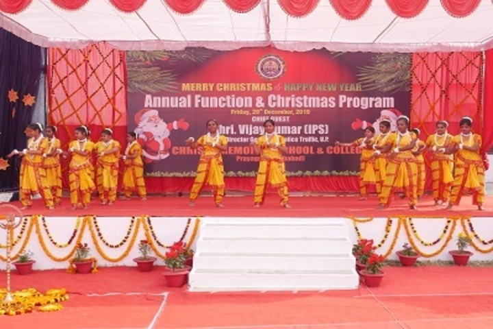 Christy Memorial School and College-Group Dance