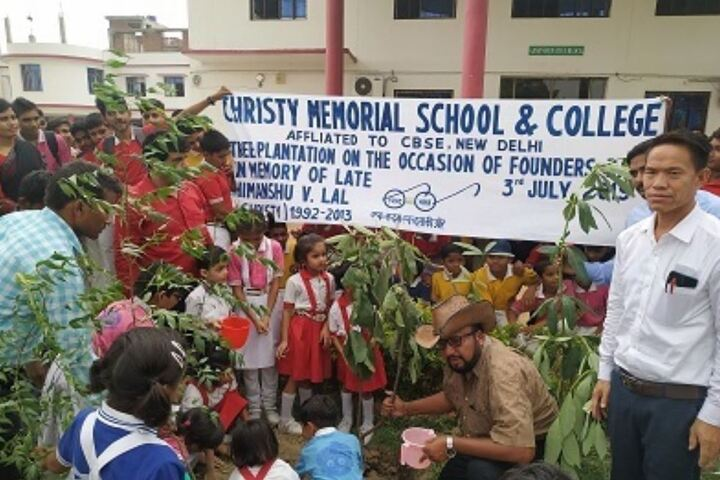 Christy Memorial School and College-Tree Plantation