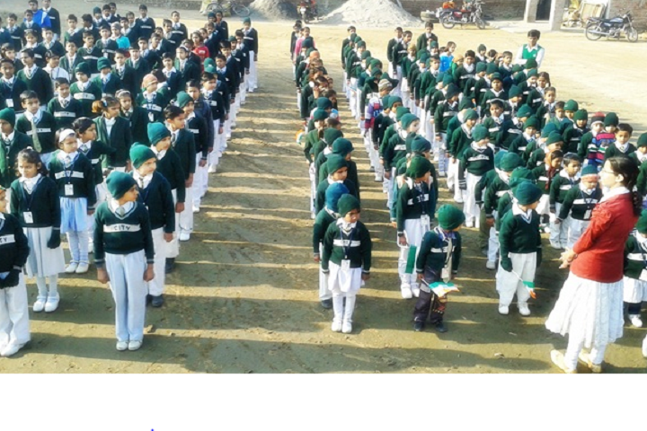 City Convent School-School assembly