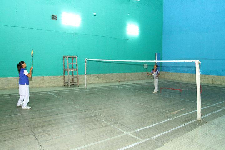 City Convent School-Badminton