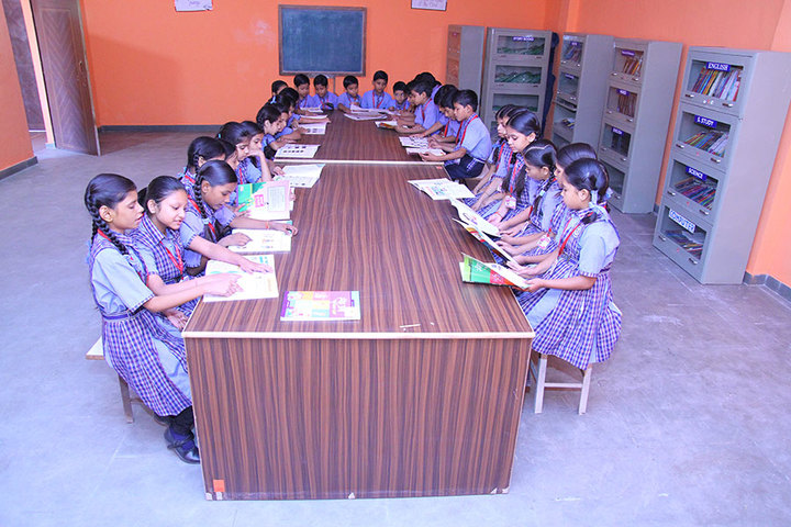 City Convent School-Library