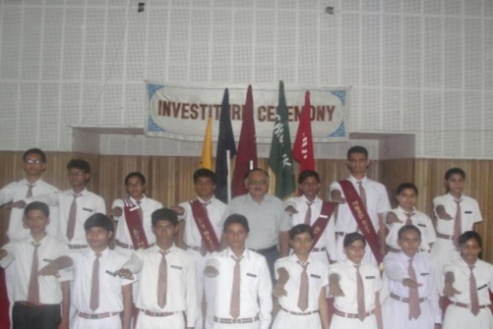 City Vocational Public School-Investiture Cermony