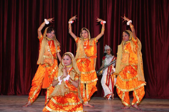 Colonel S N Mishra Obe Memorial School-Dance