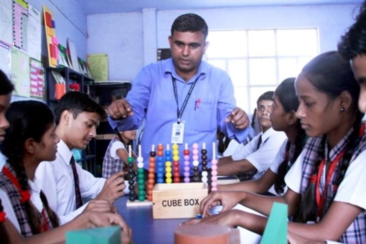 ColonelS Brightland Public School-Maths Lab