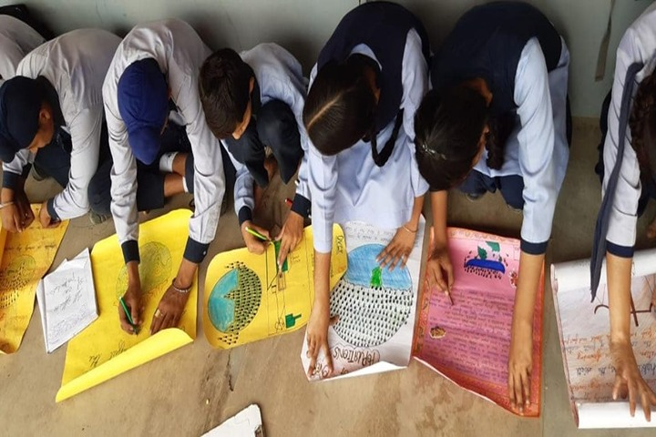 Convent Educational Academy-Painting Activity