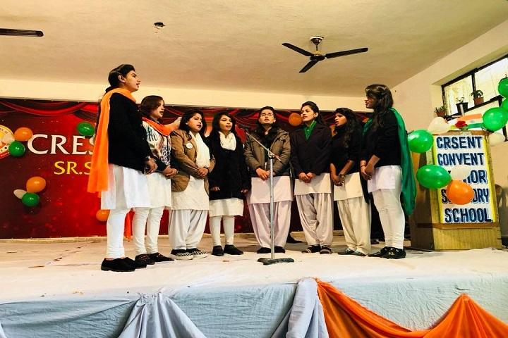 Crescent Convent Senior Secondary School-Singing
