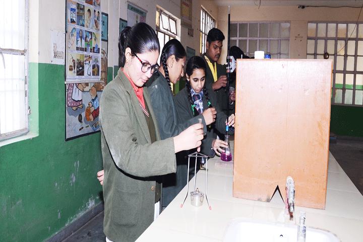 Crescent Convent Senior Secondary School-Chemistry Lab