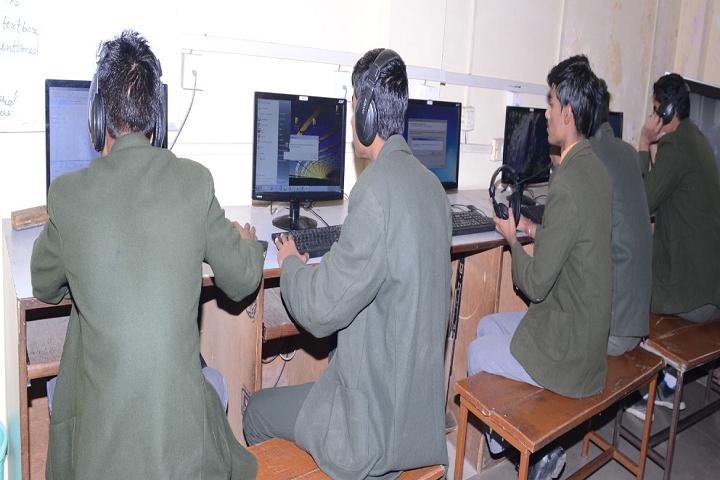 Crescent Convent Senior Secondary School-Language Lab
