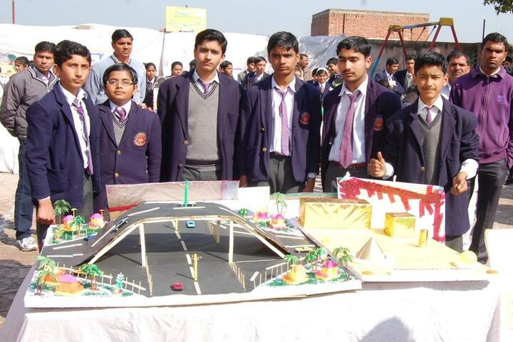 D A V Public School-School Exhibition
