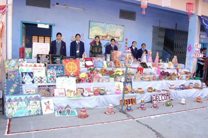 D A V Public School-Art And Craft
