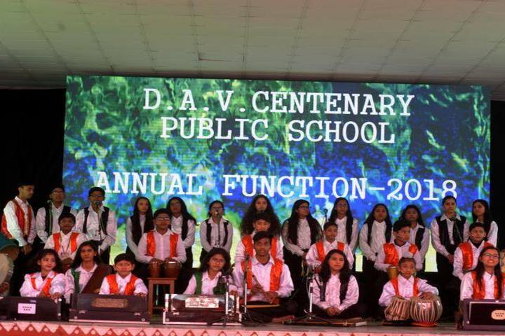 D A V Centenary Public School-Music