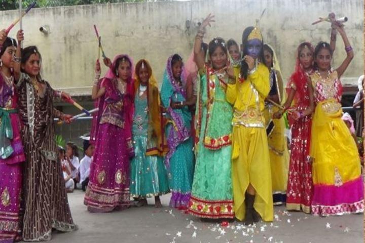 D A V Public School Celebration