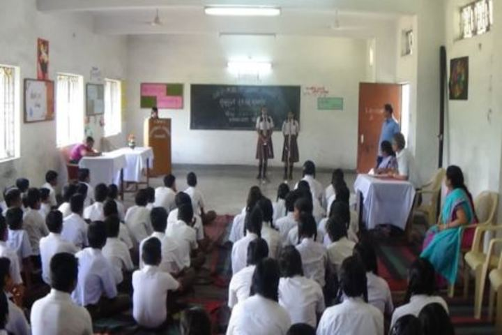 D A V Public School-Sanskrit Week Competition