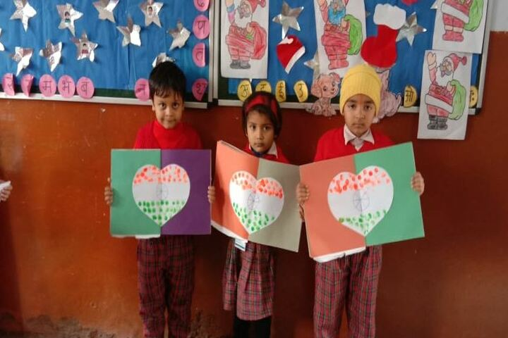 D A V Public School-Drawing Competition
