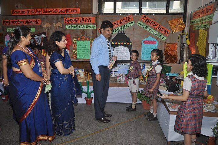 D A V Public School-Exhibition